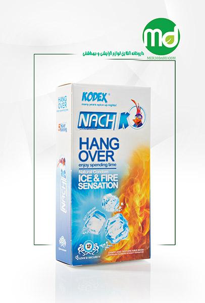 کاندوم تاخیری هنگ اور کدکس NACH مدل ICE FIRE خاردار