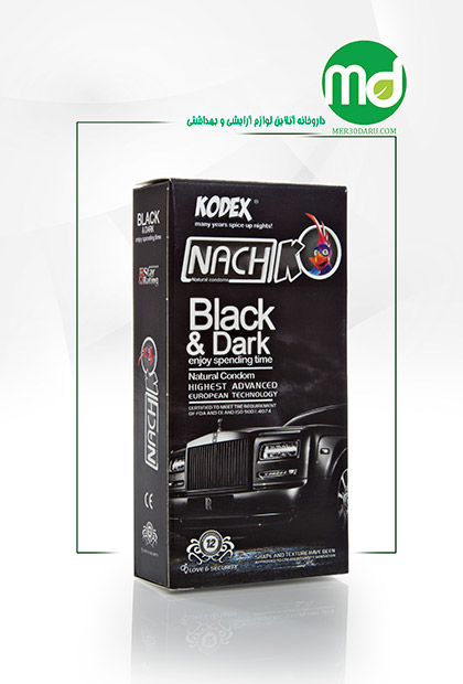 کاندوم black dark کدکس بسیار نازک 12 عددی