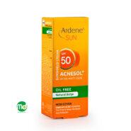 کرم ضد آفتاب oil free