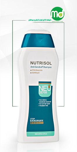 شامپو ضد شوره و ضد قارچ نئودرم مناسب انواع مو