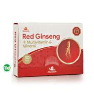 قرص ویتامین لایف جینسنگ قرمز