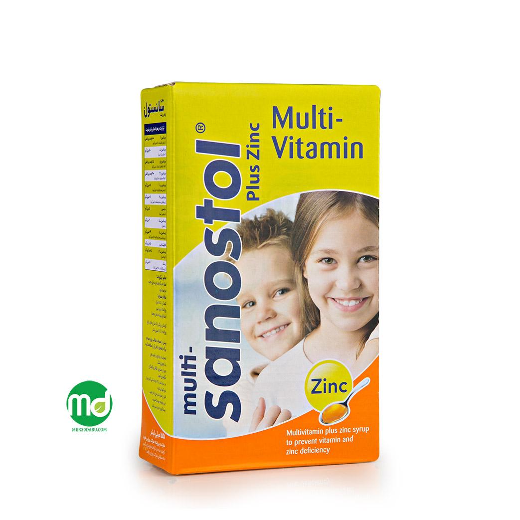 شربت مولتی ویتامین زینک پلاس
