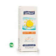 لوسیون ضد آفتاب ایروکس
